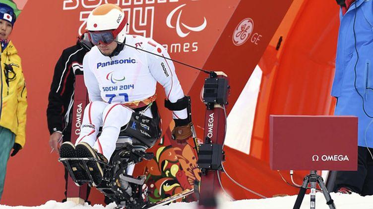Pour la première fois, France télévisions va proposer près de 60h de direct à la télévision pour ces jeux Paralympiques (KUNIHIKO MIURA / YOMIURI)