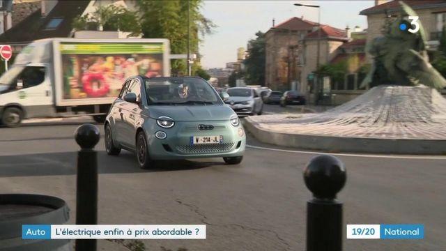 Automobile : la voiture électrique enfin à un prix abordable ?