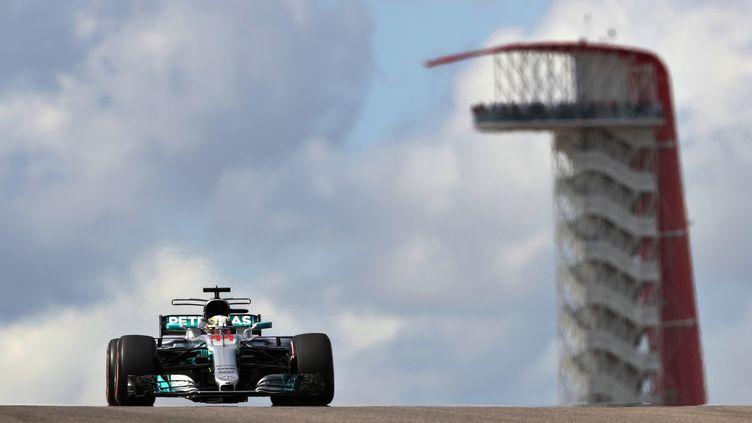 Lewis Hamilton a dominé les essais libres du GP des Etats-Unis. (MARK THOMPSON / GETTY IMAGES NORTH AMERICA)