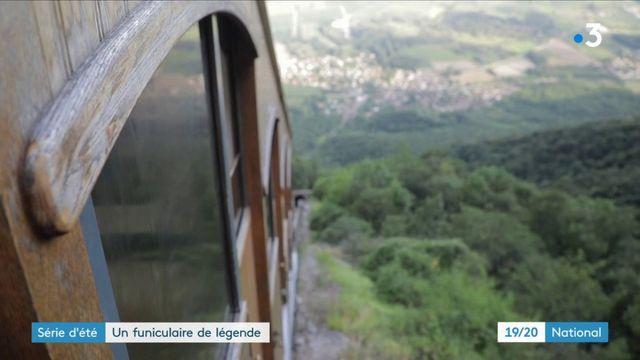 Isère : un funiculaire pour gravir la pente la plus raide d'Europe