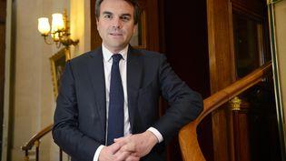 Thomas Thévenoud, à l'Assemblée nationale, à Paris, le 1er avril 2016. (BERTRAND GUAY / AFP)