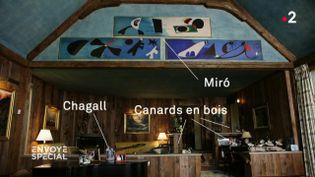 Envoyé spécial. La collection Rockefeller : toiles inestimables et canards en bois (FRANCE 2 / FRANCETV INFO)