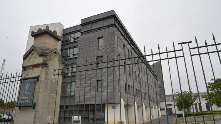 L'arrêt des soins de Vincent Lambert a commencé lundi 20 mai 2019 au CHU de Reims. (REMI WAFFLART / MAXPPP)