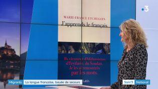 Marie-France Etchegoin et son livre J'apprends le français (France 3)