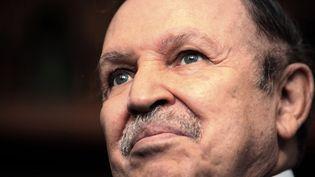 Abdelaziz Boutflika, alors président de l'Algérie, le 8 février 2009 à Alger. (FAYEZ NURELDINE / AFP)