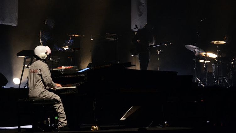Cascadeur sur la scène de la Cité de la Musique, le 10 septembre 2014  (Charles d'Hérouville)