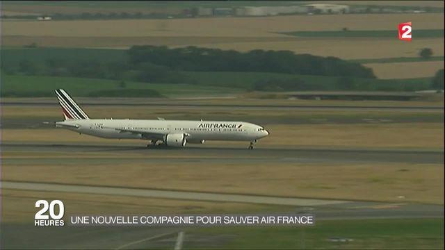 Air France annonce la création d'une nouvelle compagnie aérienne