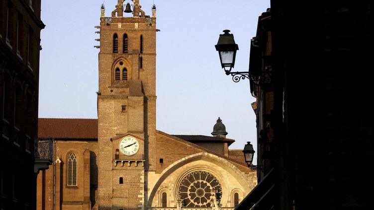 La cathédrale Saint-Etienne de Toulouse (Haute-Garonne), le 28 mai 2009. (MAXPPP)