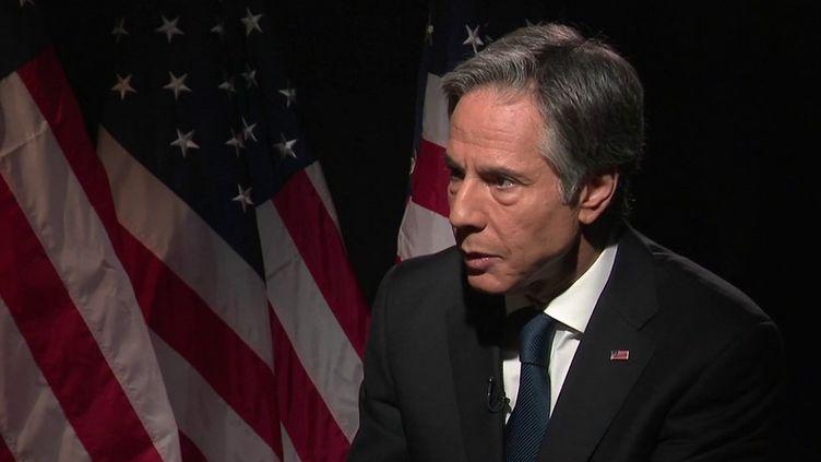 """États-Unis : """"On aurait pu, on aurait dû faire mieux"""", concède le chef de la diplomatie américaine, Antony Blinken. (FRANCE 2)"""