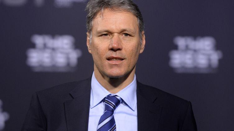 Marco van Basten, responsable du développement technique de  la Fifa (PATRICK SEEGER / DPA)