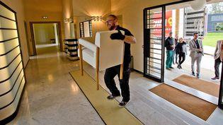 Le lot des meubles de la villa Cavrois réintègre leur maison d'origine  (PHOTOPQR/VOIX DU NORD/MAXPPP)