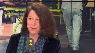 Agnès Buzyn, ministre des Solidarités et de la santé, invitée de franceinfo le 18 janvier 2019. (FRANCEINFO / RADIOFRANCE)