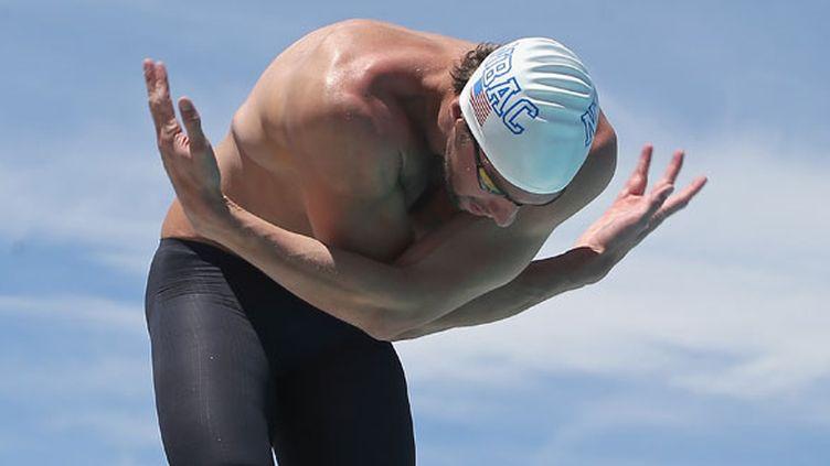 Le nageur américain Michael Phelps