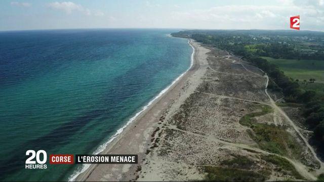 Corse : l'érosion menace la côte est de l'île