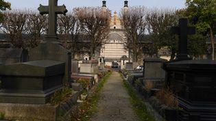 Lecrématoriumdu cimetière duPère-Lachaise, le 17 octobre 2017, à Paris. (CHRISTOPHE ARCHAMBAULT / AFP)