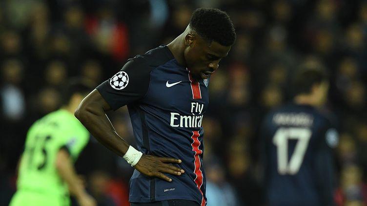 Le défenseur parisien Serge Aurier (FRANCK FIFE / AFP)