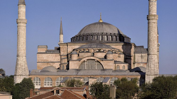 Basilique Sainte-Sophie d'Istanbul  (Krause, Johansen / Leemage)