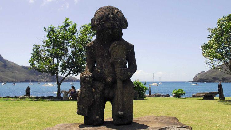 Un Tiki sur l'ile de Nuku Hiva, 2011  (NEGROTTO VIVIANE/SIPA)