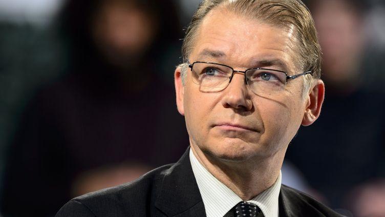 L'eurodéputé Philippe Lamberts, en novembre 2017. (JEAN-MARC QUINET / MAXPPP)
