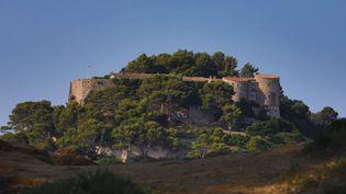 Le fort de Brégançon (Var), résidence officielle du chef de l'Etat où Emmanuel Macron passe ses vacances, le 3 août 2018. (MAXPPP)