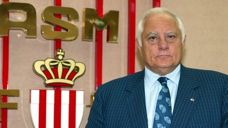 Jean-Louis Campora, alors président de l'AS Monaco en 2002