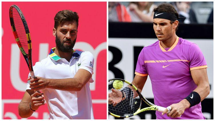 Le duel Rafael Nadal-Benoît Paire au premier tour de Roland-Garros