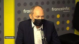 Jean-Eric Valli, patron des Indés radios et de RadioPlayer France, à franceinfo. (FRANCEINFO / RADIO FRANCE)