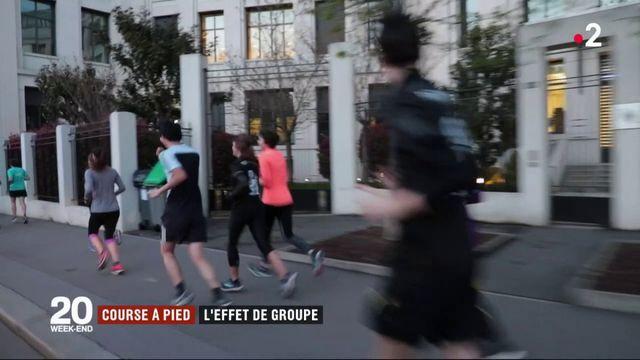 Course à pied : l'effet de groupe