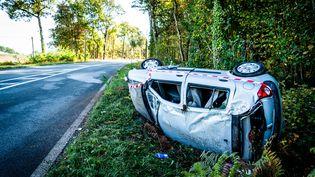En février 2019, 253 personnes sont mortes sur les routes de France métropolitaine. (GARO / PHANIE / AFP)