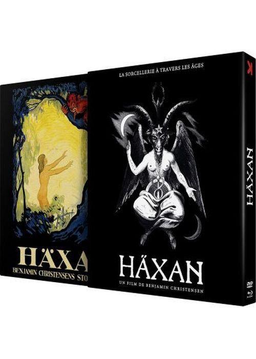 """Le coffret combo DVD/Blu-Ray de""""Haxan - La Sorcellerie à travers les âges"""" de Benjamin Christensen (1922). (POTEMKINE FILMS)"""