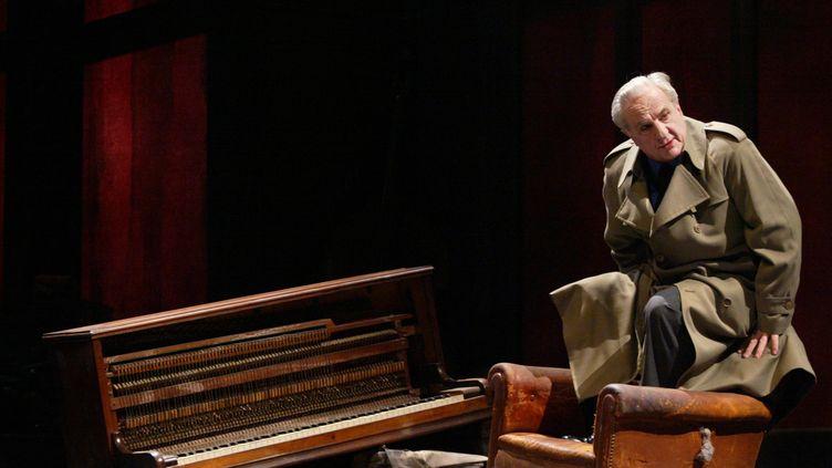 Michel Aumont au théatre de l'Atelier à Paris, le 12 janvier 2007. (MARTIN BUREAU / AFP)