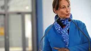 La ministre de l'Ecologie, Ségolène Royal, à Brest (Finistère), le 19 novembre 2016. (FRED TANNEAU / AFP)