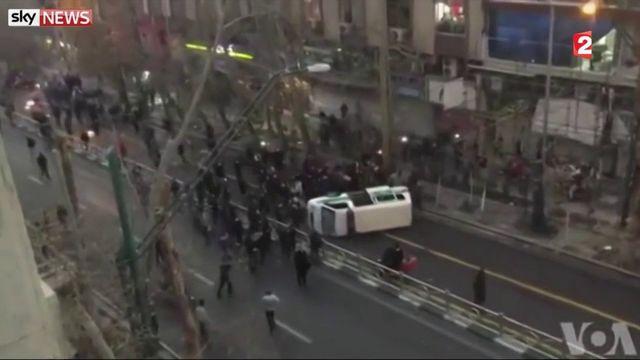 Iran : nouvelles émeutes meurtrières