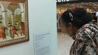 Des reproductions du Louvre sont exposées durant deux semaines au Centre commercial d'Aulnay-sous-Bois (93)  (France 3 / Culturebox )