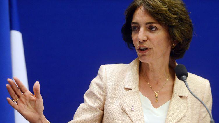 La ministre de la Santé, Marisol Touraine, le 29 septembre 2014, à Paris. (DOMINIQUE FAGET / AFP)