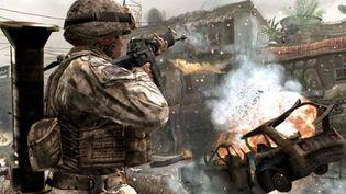 Capture d'écran du jeu vidéo Call of Duty. (DR)