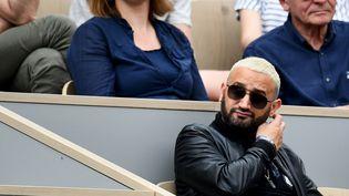 L'animateur de C8, Cyril Hanouna, lors du tournoi de Roland-Garros, le 31 mai 2019 à Paris. (MARTIN BUREAU / AFP)