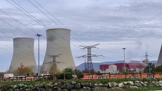 La centrale nucléaire de Cruas-Meysse à Cruas (Ardèche), le 30 novembre 2019. (TIMOUR OZTURK / FRANCE-BLEU DRÔME-ARDÈCHE)