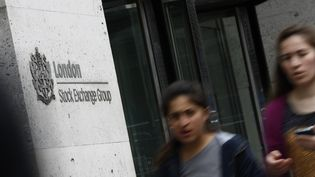 L'entrée de la Bourse de Londres, le 27 juin 2016. (ODD ANDERSEN / AFP)