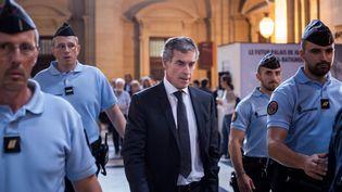 L'ancien ministre du Budget, Jérôme Cahuzac, le 15 septembre 2016 au palais de justice de Paris. (TRISTAN REYNAUD/SIPA)