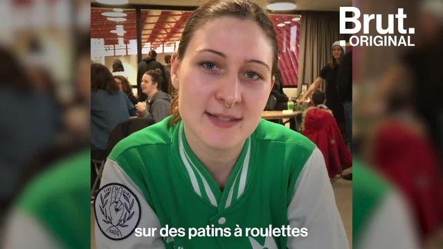 Seul sport de contact majoritairement féminin, le roller derby devient de plus en plus compétitif. Brut a suivi les joueuses de l'équipe de La Boucherie de Paris.