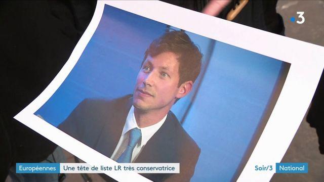 Européennes : Bellamy, un conservateur trentenaire tête de liste LR ?