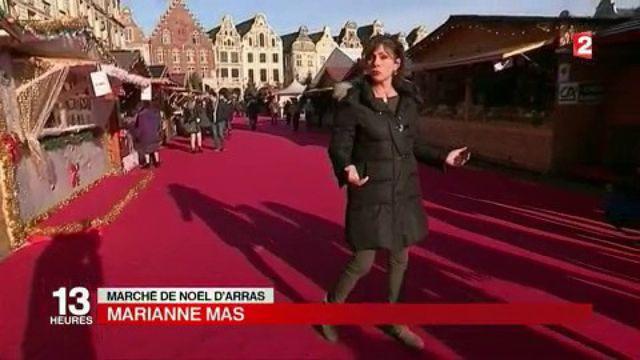 Arras : le marché de Noël attire 500 000 visiteurs