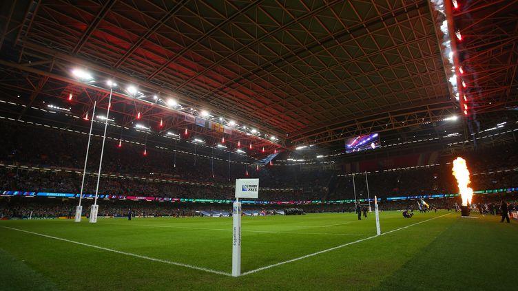 Le Millennium Stadium de Cardiff, au pays de Galles (Royaume-Uni), le 18 octobre 2015. (KIERAN MCMANUS / BACKPAGE IMAGES LTD / AFP)