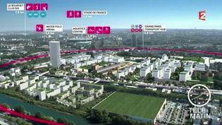 Le CIO va visiter les installations prévues pour les JO 2024 à Paris. (FRANCE 2)