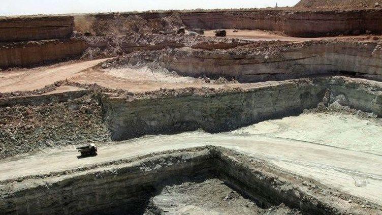 Vue de la mine Somaïr à Arlit. (AFP)