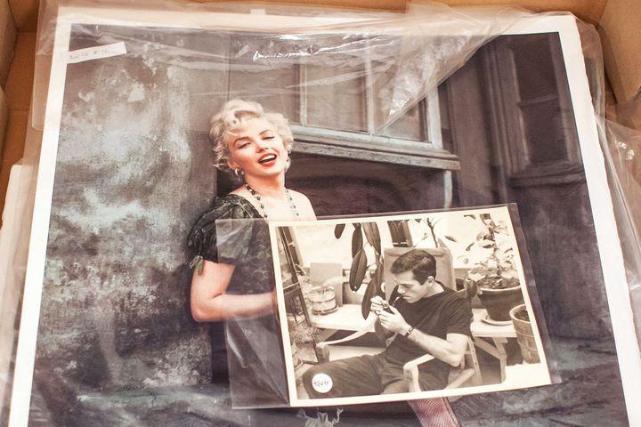 Trésor National polonais : 4000 photos de Marilyn sortent des cartons  (Wojtek Radwanski/ AFP)