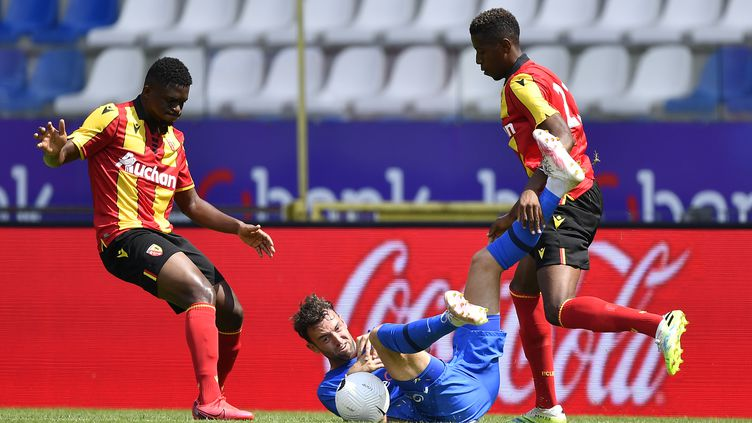 Le match amical du RC Lens a été annulé (JOHAN EYCKENS / BELGA MAG)