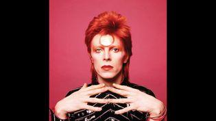Une des photos de David Bowie par Mr Sukita prise en 1973, exposée à la galerie Stardustjusqu'au 31 mai 2015.  (Masayoshi Sukita)