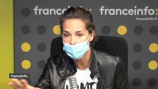 "Mélissa Theuriau, productrice du documentaire ""Bouche cousue"". (CAPTURE D'ECRAN DAILYMOTION)"